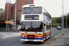Last of the line (SelmerOrSelnec) Tags: stagecoachmanchester leyland olympian northerncounties d277jvr stockport gmbuses bus