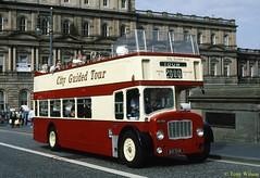 11 Mac Tours (841 SHW) Bristol FLF6B ECW body exBristol North Bridge Sept00 (Copy) (focus- transport) Tags: bristol leyland open toppers