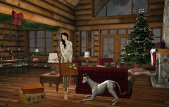 Home for the Holidays (Dakota Lavarock) Tags: potomac loghome holidays christmas hound storybook