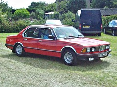287 BMW 735i (E23) (1983) (robertknight16) Tags: bmw germany 1980s e23 735i bracq luton rom234y