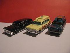 Matchbox Retooling (streamer020nl) Tags: matchbox diecast metal thailand toys 1963 retooling retooled cadillac hearse ambulance mattel