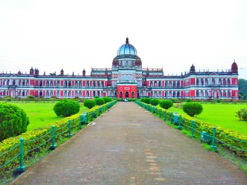 Cooch Behar Palace, also called the Victor Jubilee Palace, is a landmark in CoochBehar city, West Bengal. It was designed on the model of Buckingham Palace in London in 1887, during the reign of Maharaja Nripendra Narayan.  The Cooch Behar Palace, noted f