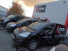 itcs exterior sign & fleet vehicles