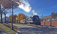 METRO-NORTH--113 lv Pawling IB (milantram) Tags: metronorth bl20gh passengertrains trains commuterrail