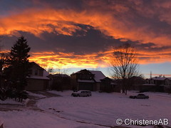 December 19, 2016 - A stunning sunset in Thornton. (ChristeneAB)