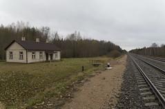 Alotenes dzelzceļa pieturas punkta ēka, 30.10.2016.