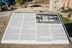 Delphi - Agora Historical Information Notice (Le Monde1) Tags: greece greek delphi ancient ruins archaeological lemonde1 nikon d800e zeus god navel apollo excavations sanctuary roman agora historical information notice market pleistos river valley pythian games sacredway temples parnassus unesco worldheritagesite