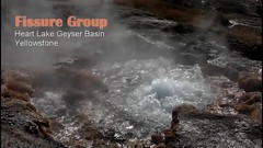 Heart Lake Fissure Group (video) (Chief Bwana) Tags: wy wyoming yellowstone yellowstonenationalpark nationalparks backcountry heartlake heartlakegeyserbasin geyserbasin splurgergeyser delugegeyser hotspring fissuregroup fissuresprings witchcreek geothermal video psa104 chiefbwana geyservideo