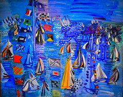Raoul Dufy - Regatta at Cowes, 1934 at National Gallery of Art - East Wing - Washington DC (mbell1975) Tags: washington districtofcolumbia unitedstates us raoul dufy regatta cowes 1934 nga national gallery art museum museo musée musee muzeum museu musum müze finearts fine arts gallerie beauxarts beaux galleria eastwing east wing washingtondc dc usa america painting impression impressionism impressionist