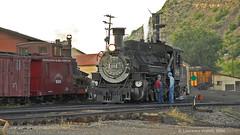 D&S NG locomotive (l.e.violett) Tags: railroad locomotive durango silverton dsng pse