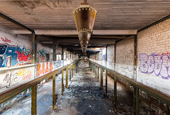 Into Deep (Myanoli) Tags: leipzig lost place fabrik canon 70d graffity symmetry