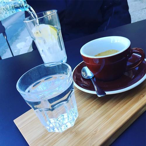 De swing a @detectiuswing Great Coffee a  @lalopezcafe #coffestory #coffestorming