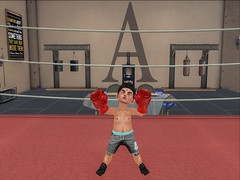 #Winner (Zaidon Resident) Tags: dura new somethingnew pose flite boy fashion secondlife toddleedoo boxing gaming gamer boys blogger blogging photography photographer photo photooftheday photograpy pictures poses fighting sneakers shorts gym gloves wrestle whatnext