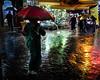 www.garridofotografos.com P1020708-3 (JESUSGX8) Tags: medina tangier morroco rain lluvia paraguas red colores agua lumix summilux