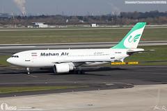 EP-MNX (dabianco87) Tags: aeroplano aircraft aerei plane dusseldorf dus airbus a310300 mahanair epmnx