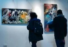 """Muestra en El Bolson (Jose Maria Casas """"two-"""") Tags: contemporary art arte contemporaneo contemporaryart artecontemporaneo abstract abstraccion abstraction el argentina patagonia bolson josemariacasas two abstracta pintura painting"""