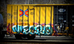 mecro CDC (timetomakethepasta) Tags: mecro cdc freight train graffiti art boxcar ttx tbox benching selkirk new york photography