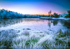 """ Sunrice Gildehauservenn - cold morning "" (Kalbonsai) Tags: nikon d5100 outdoorphotography naturshot sunrice 1685mm color clouds waterscape water frost cold zonsopkomst koud kalt germany gildehauservenn bentheim niedersachsen trees snow ijs"