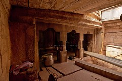 "Malaiyadipatti (Aalaththur Thali ) Rock-Cut Cave Temple-Pudukottai District. (Kalai ""N"" Koyil) Tags: nikon d 5200 tokina 1116mm 18140mm 2015 olipathi vishnu girugam malaiyadipatti rockcut cavetemple pudukottai district keeranurkillukkottairoad outerview tamilnadu southindiantemple architecture kalainkoyil aalaththur thali"