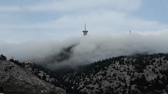 (Sotiris Antoniou) Tags: greece mountain fog parnitha shelter trekking mpafi ellada