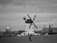 Windmill in Lytham Saint Annes (Eddie Crutchley) Tags: europe england lancashire lythamsaintannes outdoor windmill mono
