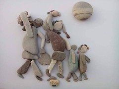 """فنان سوري يرسم """"الحب والقتل والتهجير"""" بحجارة جبل """"صافون"""" (ahmkbrcom) Tags: اللاذقية دمشق"""