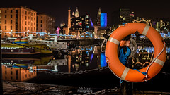 City Centre and Albert Dock from Salthouse Dock (TehJazzi Photography) Tags: liverpool city centre photography long exposure colours albert dock salthouse liver building canon nikon d5500 100d wide angle 10mm 50mm 30mm prime american diner bus old school retro life ring christmas lights festival wheel echo arena reflections water quay boat port winter dark shows rides fun fair beatles story artistic photographer canvas prints