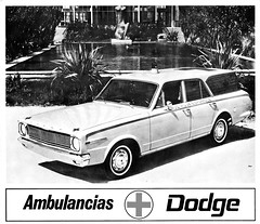 1967 Dodge Ambulance by Barreiros (Spain) (aldenjewell) Tags: 1967 dodge dart ambulance barreiros sa spain brochure