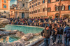 Trevi Fountain A View on Reality (Rob's4tography) Tags: rome italy trevifountain trevifontana tourist tourism sights outside sun crowds people