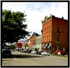 Cuba  ~ New York ~  Main St Historic District (Onasill ~ Bill Badzo) Tags: village town hall cuba newyork ny alleganycounty historic main street district architecture italinate sky clouds st nrhp onasill canon attractionsite garlic festival style