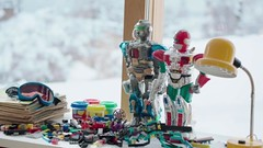LEGO in Real Humans S2E1 (.) Tags: television toy tv lego robots technic bionicle realhumans ktamnniskor