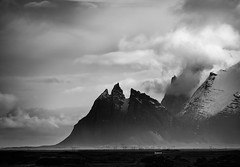 the white house (Andrew J Lee) Tags: mountains mono iceland mood infrared