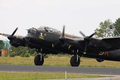 BBMF Avro Lancaster (Rens Bressers) Tags: show holland netherlands june aviation military air jet nederland airshow planes brabant noordbrabant militair luchtvaart