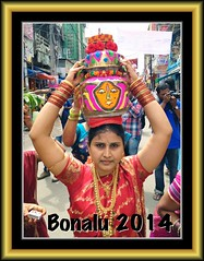 Bonalu - Portrait - Mahankali Temple 2014 - #13072014-IMG_4993 (photographic Collection) Tags