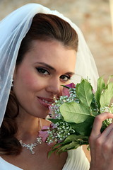Her Wedding Day (Alan1954) Tags: wedding portrait woman holiday bride europe marriage slovakia bratislava 2013