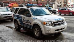 Service de police de la Ville de Montral (SPVM) (QC) (policecanada.ca) Tags: ford escape montreal police spvm 801