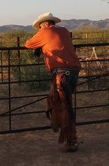 COWBOY GEAR (AZ CHAPS) Tags: ranch spurs cowboy boots hats wranglers gear pickuptruck ropes chaps