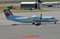 de-Havilland Canada DHC-8 Q-301 C-GTAT Air Canada Express (EI-DTG) Tags: canada yvr dehavilland dehavillandcanada dhc8 vancouverinternational cgtat aircanadaexpress