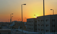Sunrise in Saudi Arabian city (shierie) Tags: city sunrise saudi arabia