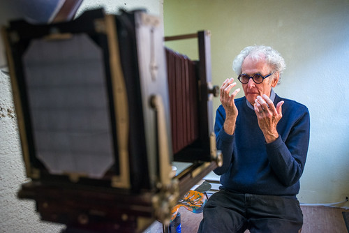 Tintype Portrait - Jerry Uelsmann