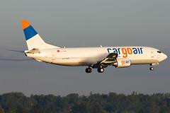 Cargo Air   Boeing 737-400SF   LZ-CGR   16.06.2014   Warsaw - Okecie (Maciej Deliś) Tags: airport air cargo special warsaw chopin boeing 737 freighter b737 b734 737400sf lzcgr