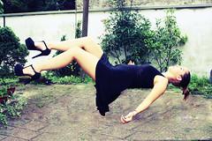 Levitation. (Black_ Soul) Tags: home nature girl fashion photo model italian shoes italia dress photoshoot models levitation shooting levitazione