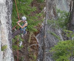 Climbing Cathedral Ledge, New Hampshire (John Strung) Tags: unitedstates newhampshire glen bartlett roadtrip2014