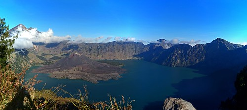 Mt. Rinjani - Crater View from Senaru Rim