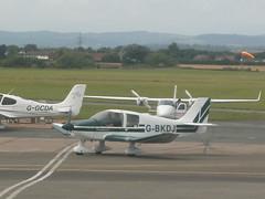G-BKDJ Robin DR400 (Aircaft @ Gloucestershire Airport By James) Tags: robin james airport gloucestershire lloyds dr400 egbj gbkdj
