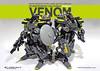 SC Venom Mark 4_Bricksben63 (Benjamin Cheh) Tags: war lego group weapon scifi fantsy diorama mecha mech moc futu