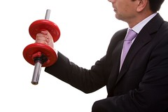 businessman lifting weights (postgrado.sinergia) Tags: people white man male men sport businessman training work person one athletic healthy holding hand power lift adult exercise arm muscular young lifestyle bodybuilding business health gymnastics strong effort strength weightlifting build athlete workout heavy fitness gym executive job success weight isolated weights bicep active determination career lifting caucasian difficulty