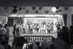 KG3 Graduation 21 (Hani*) Tags: b party bw kids canon children blackwhite child play wide graduation wideangle teacher frame 5d 24mm framing 2014 mark2 kg3 5dmarkii haniabsi