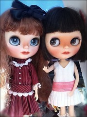 Blythe-a-Day August #14&15:A Pair&Coming Soon:Scout (right) & Juliette (left)
