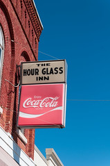Hour Glass inn (Corey.W.Hodgson) Tags: ohio sign vintage inn nikon coke pop retro genoa local cocacola d300s tamaron1750f28